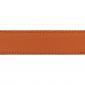 Cuir 30 mm grainé orange
