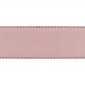 Cuir 40 mm grainé rose clair