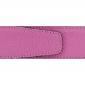 Cuir 40 mm grainé rose