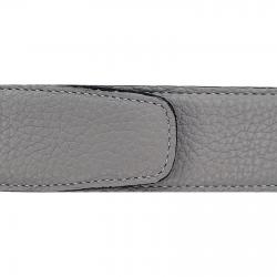 Cuir 40 mm souple gris