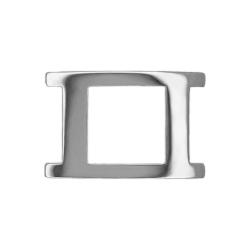 Boucle 35 mm Porto-Fino argent