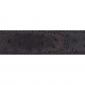 Ceinture cuir façon autruche marron 30 mm - Roma or