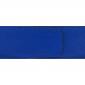 Ceinture cuir grainé bleu roi 40 mm - Roma or