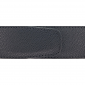 Ceinture cuir grainé noir 40 mm - Milano canon fusil