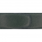 Ceinture cuir grainé vert foncé 40 mm - Porto-fino or