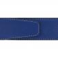 Ceinture cuir souple bleu roi 40 mm - Roma mate