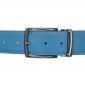 Ceinture cuir souple bleu ciel 40 mm - Milano canon fusil